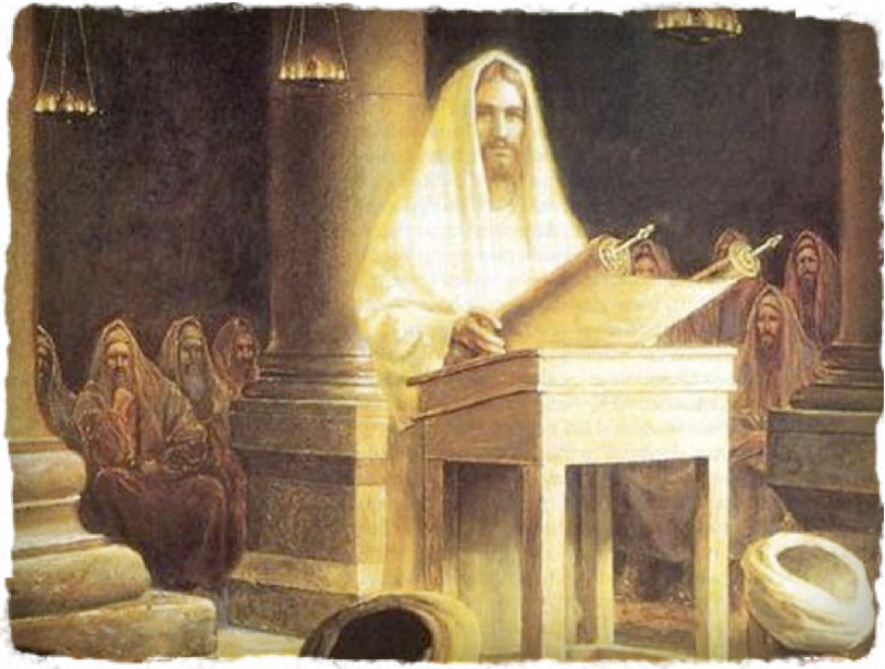 Image result for jesus in the synagogue